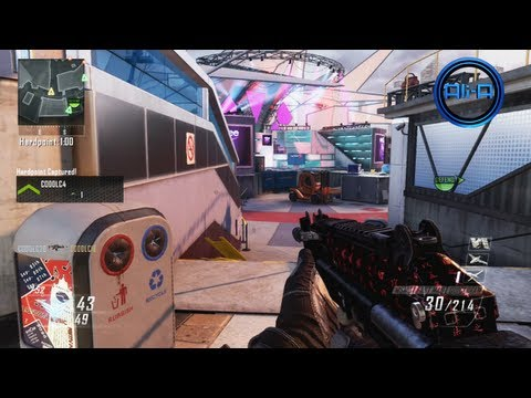 """ENCORE"" Gameplay - Black Ops 2 Multiplayer Map DLC - New UPRISING Map Pack COD BO2"