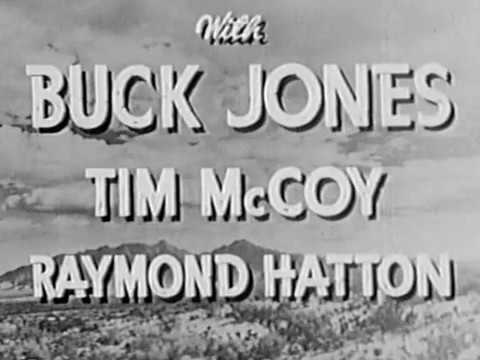 1942 DOWN TEXAS WAY  Buck Jones, Tim McCoy and Raymond Hatton  Full movie