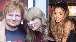 Ariana Grande & Taylor Swift FIGHT Over Ed Sheeran?!
