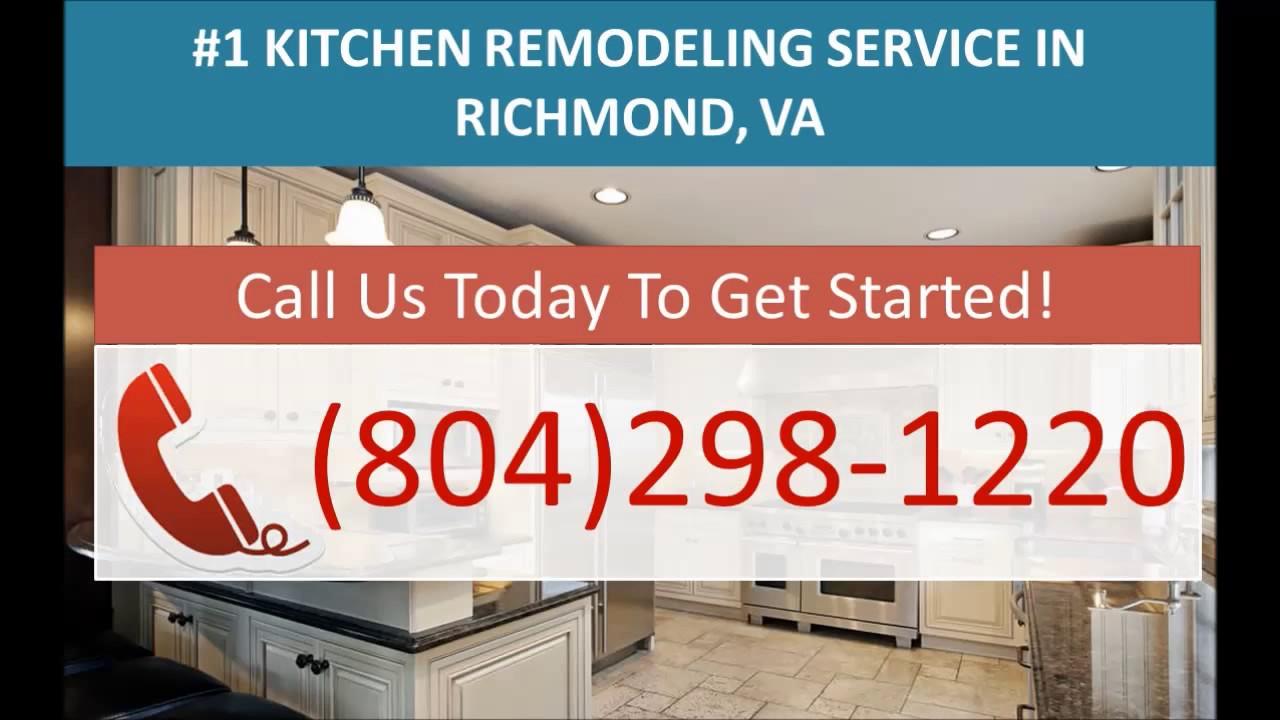 Kitchen Remodeling Contractors Richmond VA   (804)298 1220