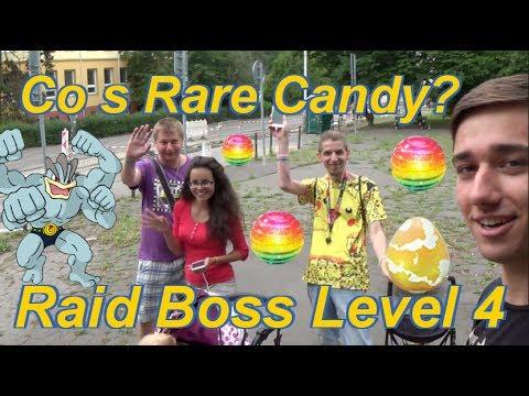 Pokemon GO   Co dělat s Rare Candy? Raid Boss Level 4!!!   Jakub Destro