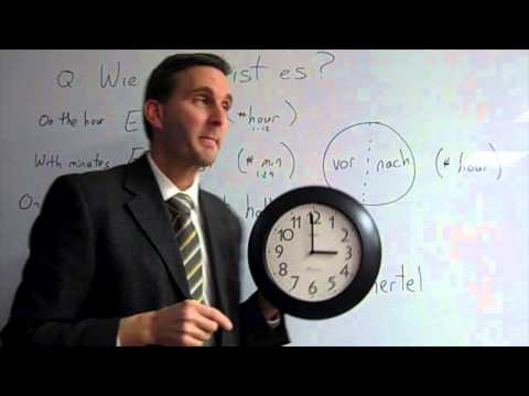 Wie spät ist es? Telling time in German