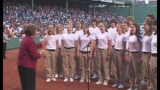 The Oregon Youth Chorale plays Fenway