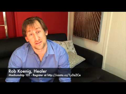 Meet Rob Koenig, Reconnective Healing Practitioner at  Mediumship 101