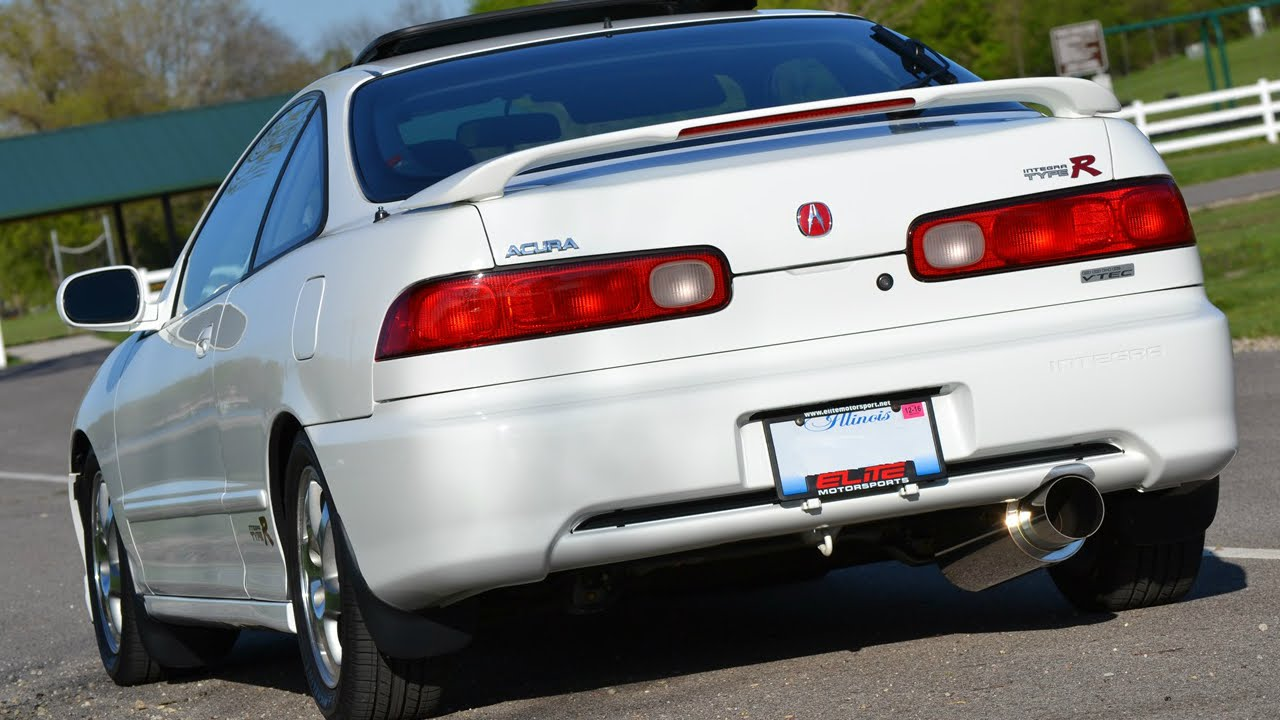 Acura Integra GSR APEXi N Catback Exhaust YouTube - Acura integra gs 2000