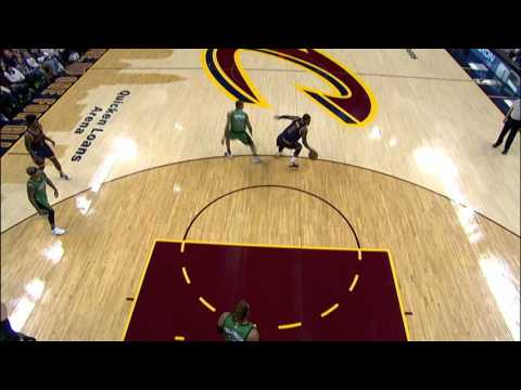 Kyrie Irving Puts Avery Bradley In The Spin Cycle