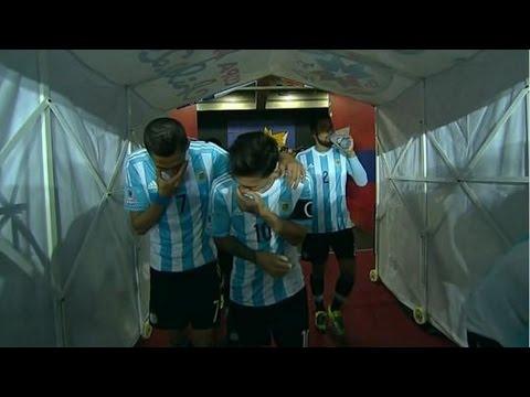 Lionel Lionel Messi y Ángel Di María se burlaron de Gerardo Martino | Copa América Chile 2015