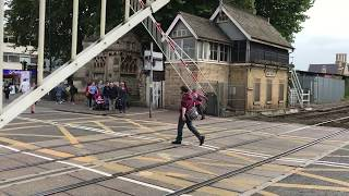 *FAULTY ALARM* (1080p60fps) Lincoln High Street Level Crossing (09/09/2017)