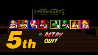Mario Kart 64 - Vizzed.com GamePlay GP 150cc part 2/2 - User video