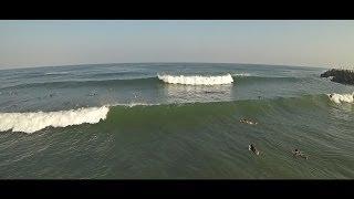 Ashkelon Surf Dlela Beach with Go Pro 5-6/7/14 HD thumbnail