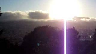 Fog Time Lapse from Potrero Hill