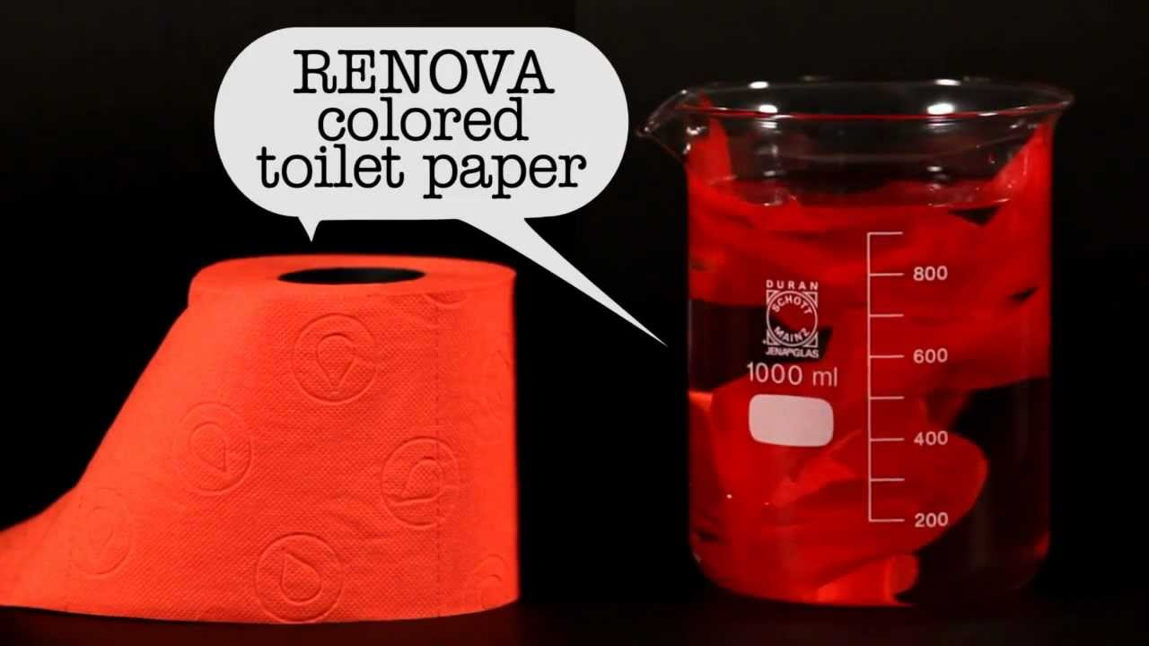 Is Renova Colored Toilet Paper Safe For Sewers And Septic Systems