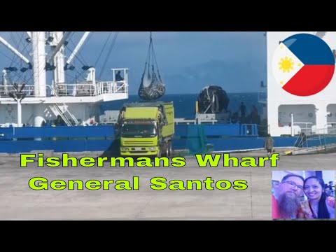Gensan Fish Port || Fishermans Wharf General Santos || Unloading Of The Fishing Boats || Philippines