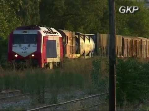 FREIGHT TRAINS IN ATHENS Part 1 1999-2001