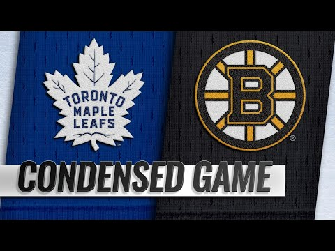 11/10/18 Condensed Game: Maple Leafs @ Bruins