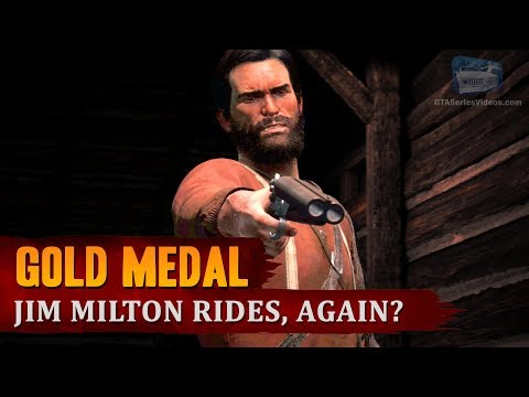 Red Dead Redemption 2 - Mission #93 - Jim Milton Rides, Again? [Gold Medal]