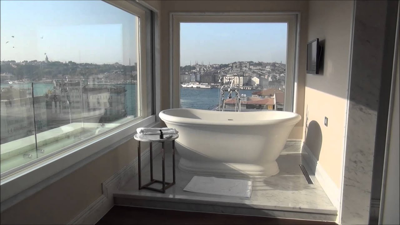 outrageous penthouse suite vault karakoy the house hotel istanbul youtube. Black Bedroom Furniture Sets. Home Design Ideas