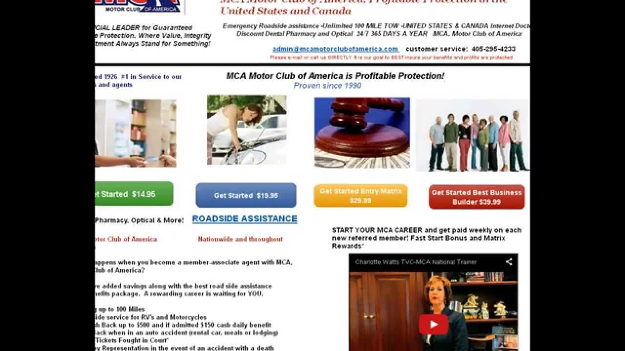 Motor club of america mca scam the 1 problem mca for Motor club company scam