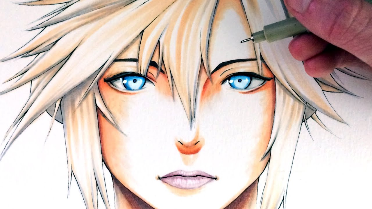 Let S Draw Cloud Strife Final Fantasy Vii Fan Art Friday