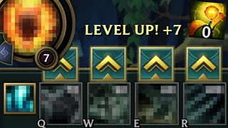 League of Legends but you can only level an ability when you ward