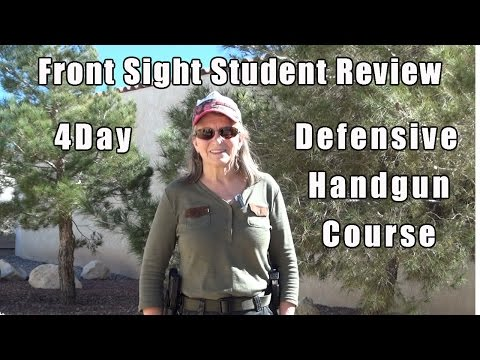 Handgun Training Student Review   Student Gun Training Review   Female Firearms Training Review