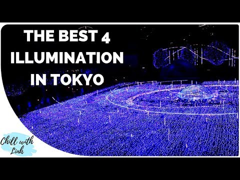 Tokyo Winter Illumination 2017: Best Christmas Lights in Japan! 東京イルミネーション