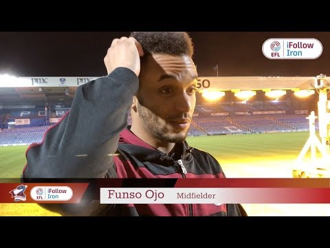 📹 iFollow: Funso Ojo's post-Portsmouth reaction