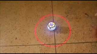 Musical Spinning Top : Colourful Laser Sipping Top/Magical Thumbnail