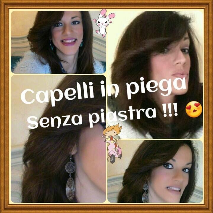Straight Hair Capelli Lisci Senza Piastra Youtube