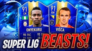 TOTS 91 ONYEKURU & 91 VISCA! 60K BEASTS! FIFA 19 Ultimate Team
