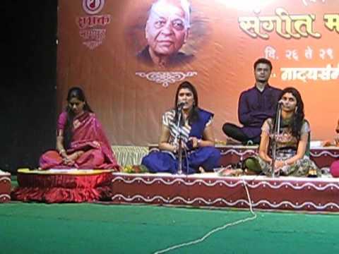 Shreeya Sondur singing 'Ugawala Chandra Punavecha'