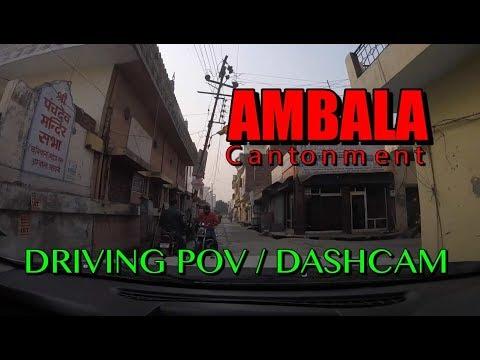 Panchdev Mandir to Ambala Cantt Railway Station | Dashcam POV
