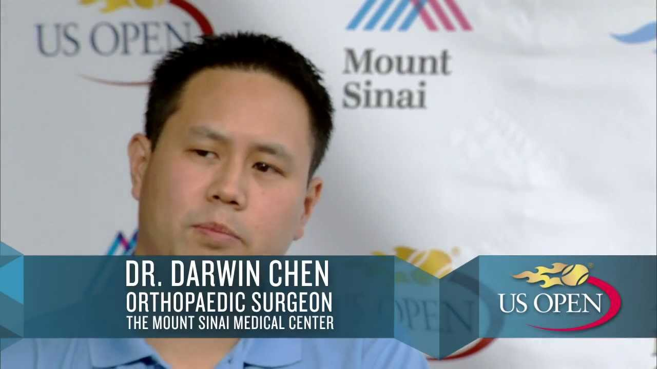 Dr. Darwin Chen discusses Knee & Hip Replacements at the US Open