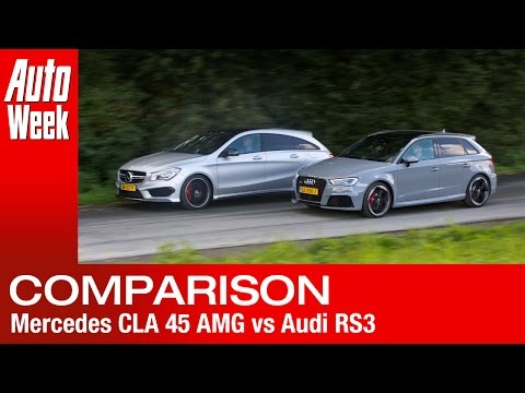 Audi RS3 vs Mercedes CLA 45 AMG Shooting Brake