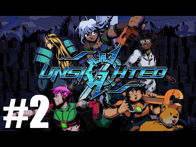 Unsighted - [Complete Playthrough Part 2/6] [1440p] - Gameplay PC