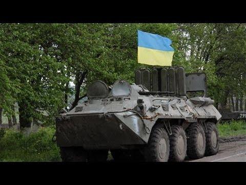 Ukrainian Troops Battle Pro-Russian Militants in Slovyansk
