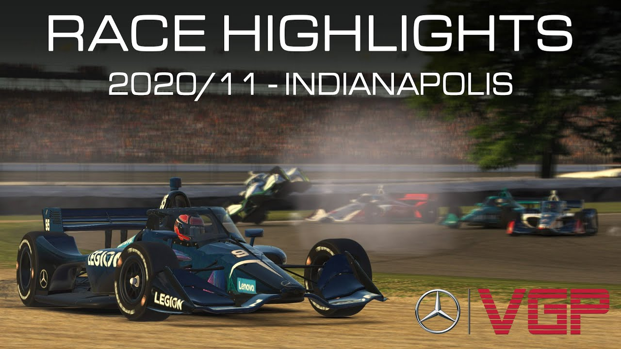 Mercedes-Benz Virtual GP 2020 – 11 Indianapolis Highlights (EN) – YouTube