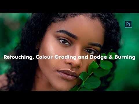 Photoshop Tutorial - Retouching, Colour Grading and Dodge & Burning thumbnail