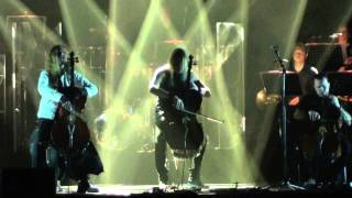 APOCALYPTICA - Lullaby/Bittersweet (live @ Tempodrom Berlin 2014)