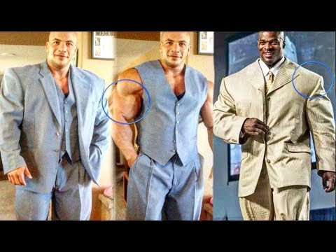 When Bodybuilders Wear Suits - Too Big For Normal Clothes