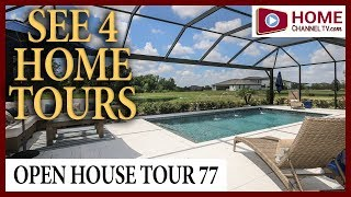 Open House VLOG (77)  - Touring 4 Homes at Watergrass in the Tampa Area