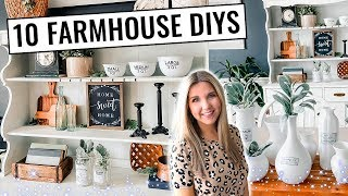 10 Farmhouse Diy's   Tons Of Thrifted Decor Ideas!