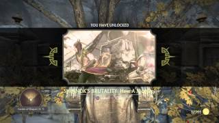 Krypt Location Shinnok Brutality: Have A Nice Day -Garden of Despair (-8,7)- MKX