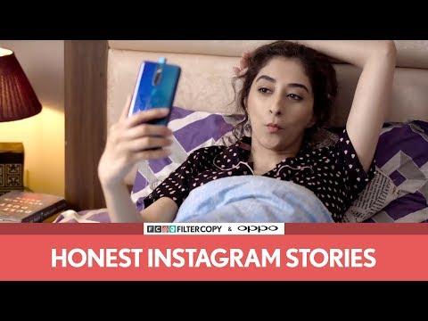 FilterCopy  Honest Instagram Stories  Ft Kritika Avasthi and Rohan Shah