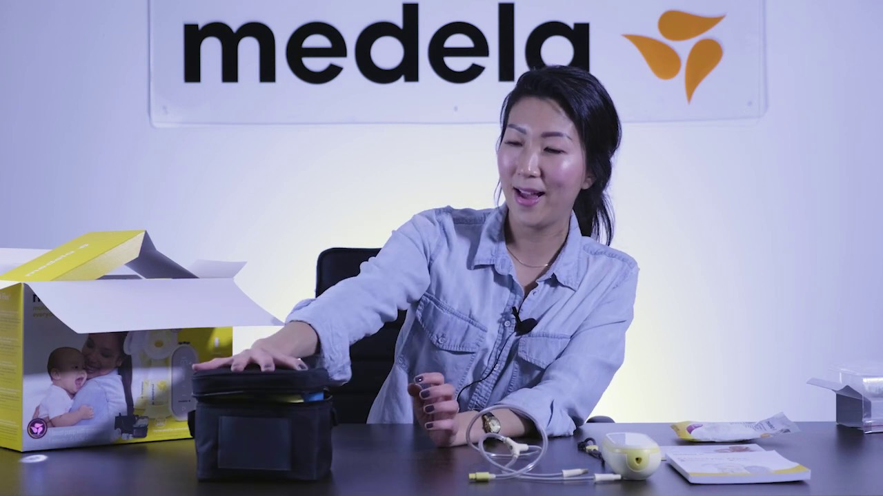 Unboxing Medela S Freestyle Flex Double Electric Breast Pump