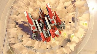 Planetary Annihilation TITANS - 2v2v2v2 Multiplayer Gameplay