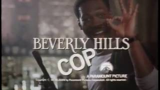 Coming soon to video - Beverly Hills Cop - 1984 VHS trailer