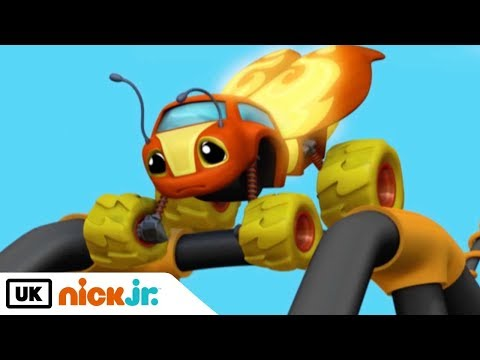Blaze and the Monster Machines   Sparky Learns to Fly   Nick Jr. UK