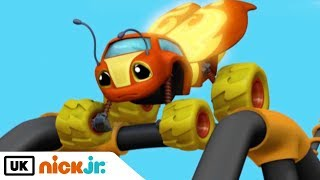 Blaze and the Monster Machines | Sparky Learns to Fly | Nick Jr. UK