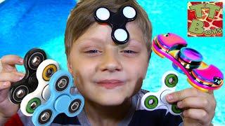 New collection Fidget Spinner Challenge | Новая коллекция Фиджет Спиннеров